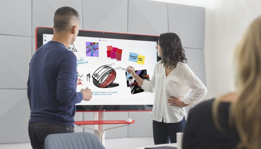 Google's giant digital whiteboard for the office is on sale now